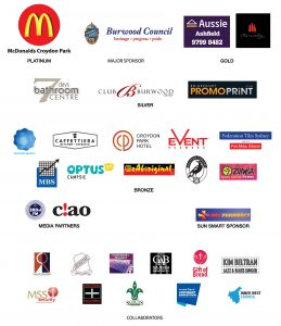 Sponsors of the Experience Croydon Park Festival