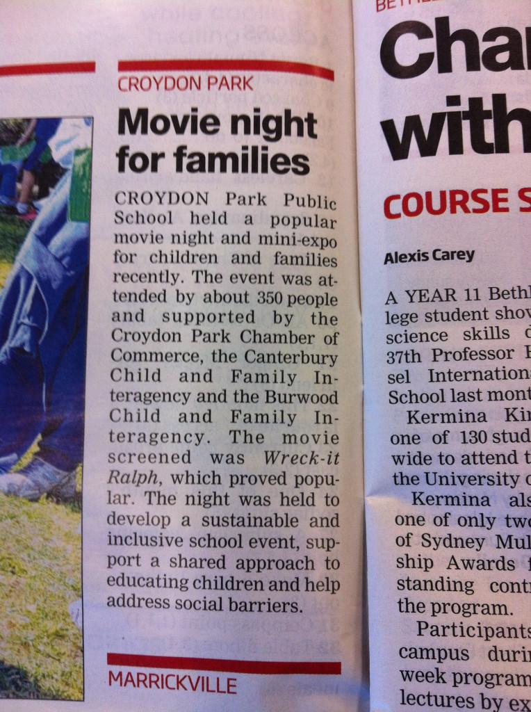Movie Night story