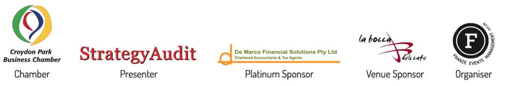 Cashflow flyer sponsors