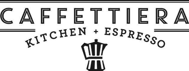 Caffettiera Kitchen+Espresso_Lockup 1